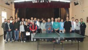 На початку преслави турнир у столним тенису